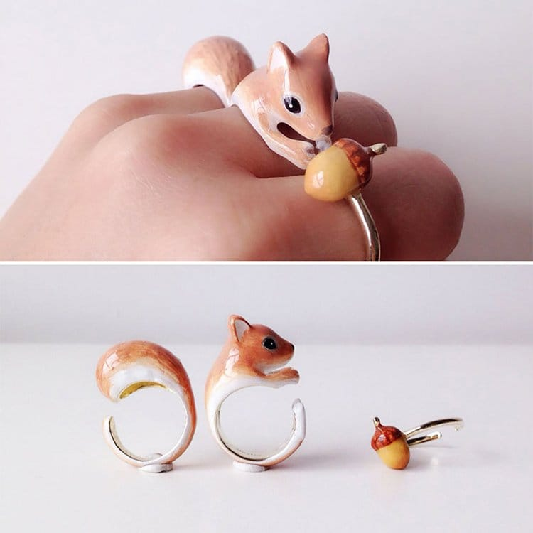 squirrel-animal-rings