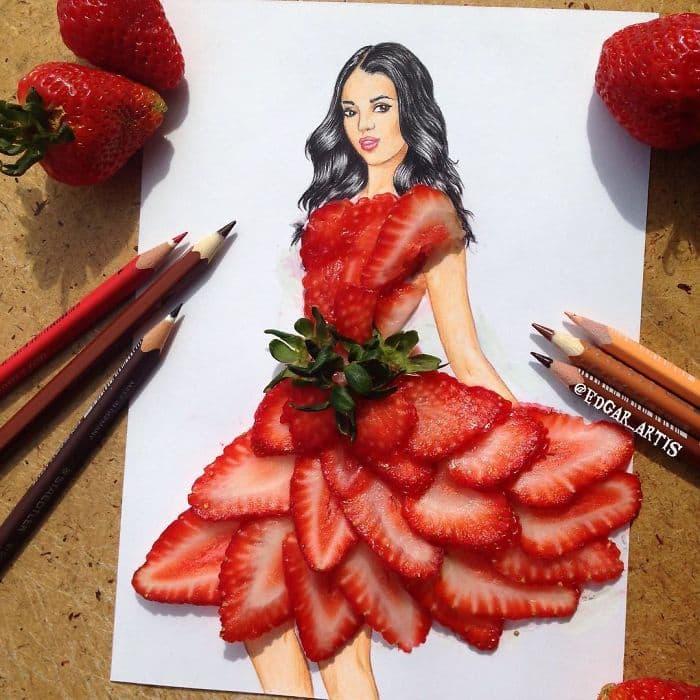 strawberries-dress-sketch