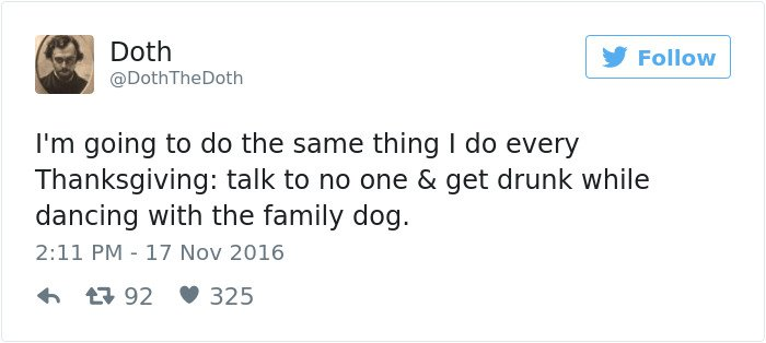 talk-to-no-one-dance-with-dog-thanksgiving-tweet