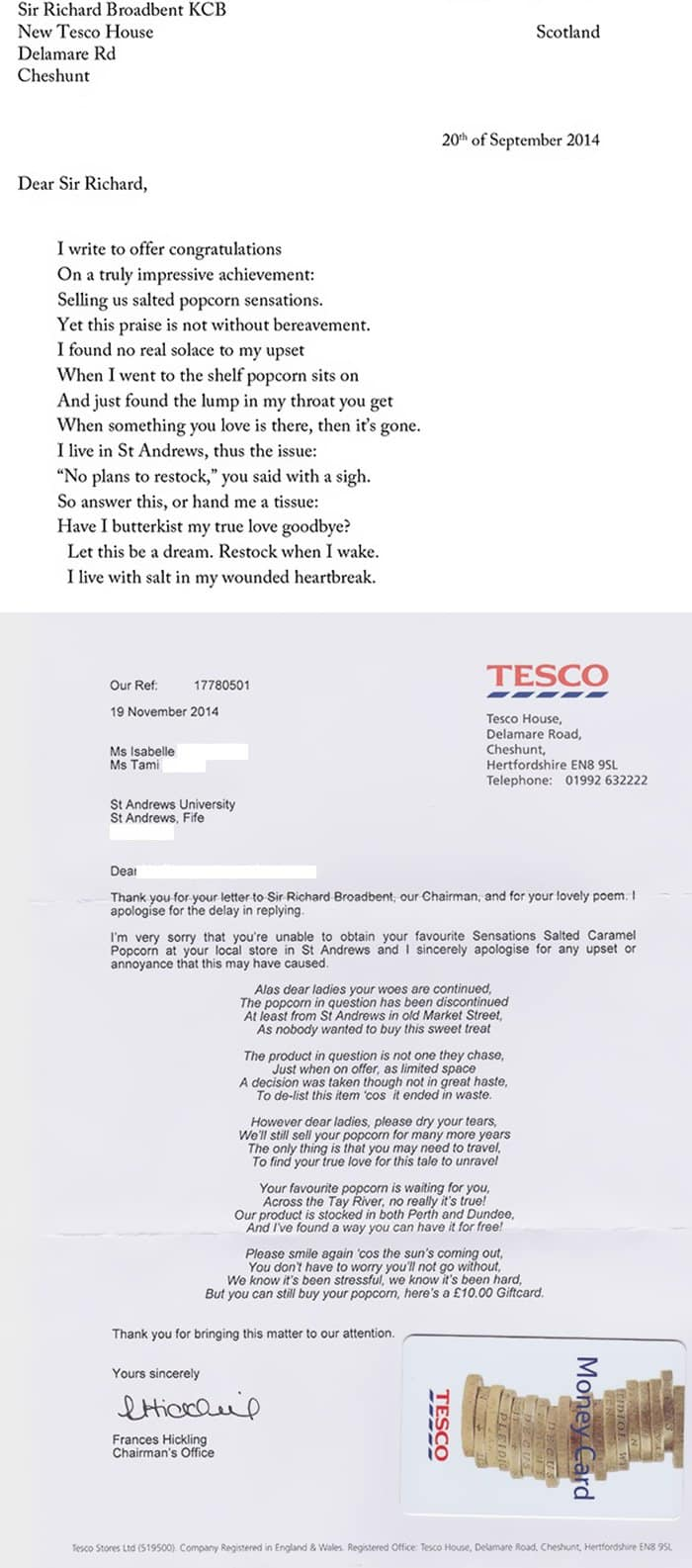 tesco-popcorn-complaint-and-response