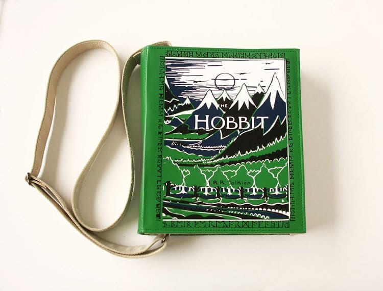 the-hobbit-book-themed-bag