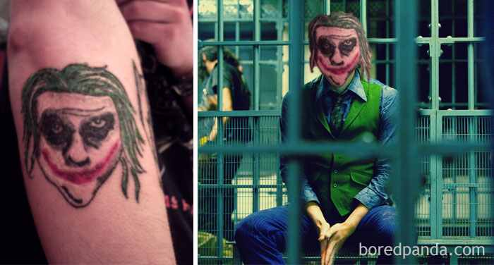the-joker-tattoo-face-swap