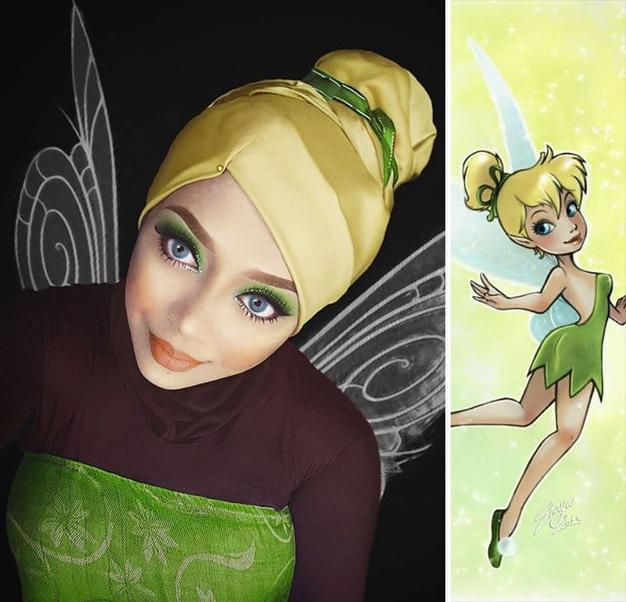 tinker-bell-hijab-transformation