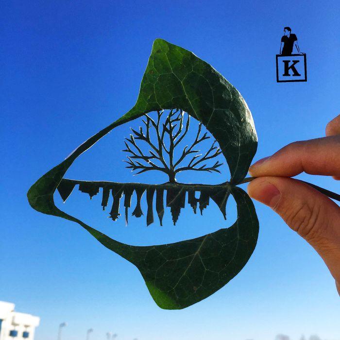 tree-leaf-drawing