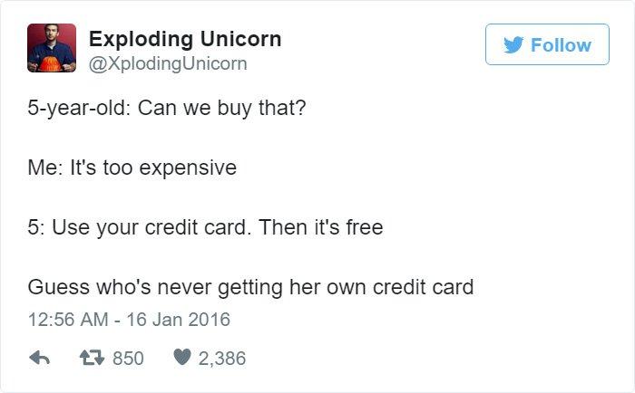 use-your-credit-card-kids-tweet