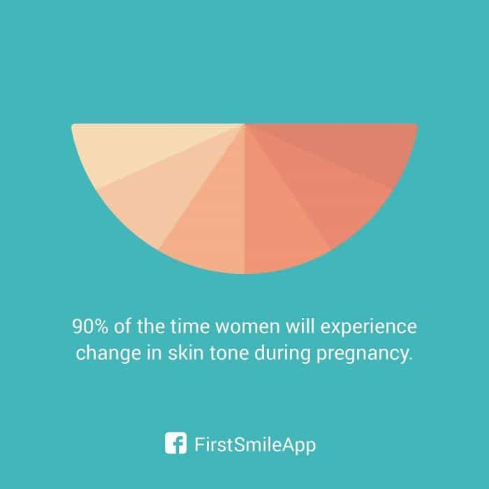 weird-pregnancy-facts-change-in-skin-tone