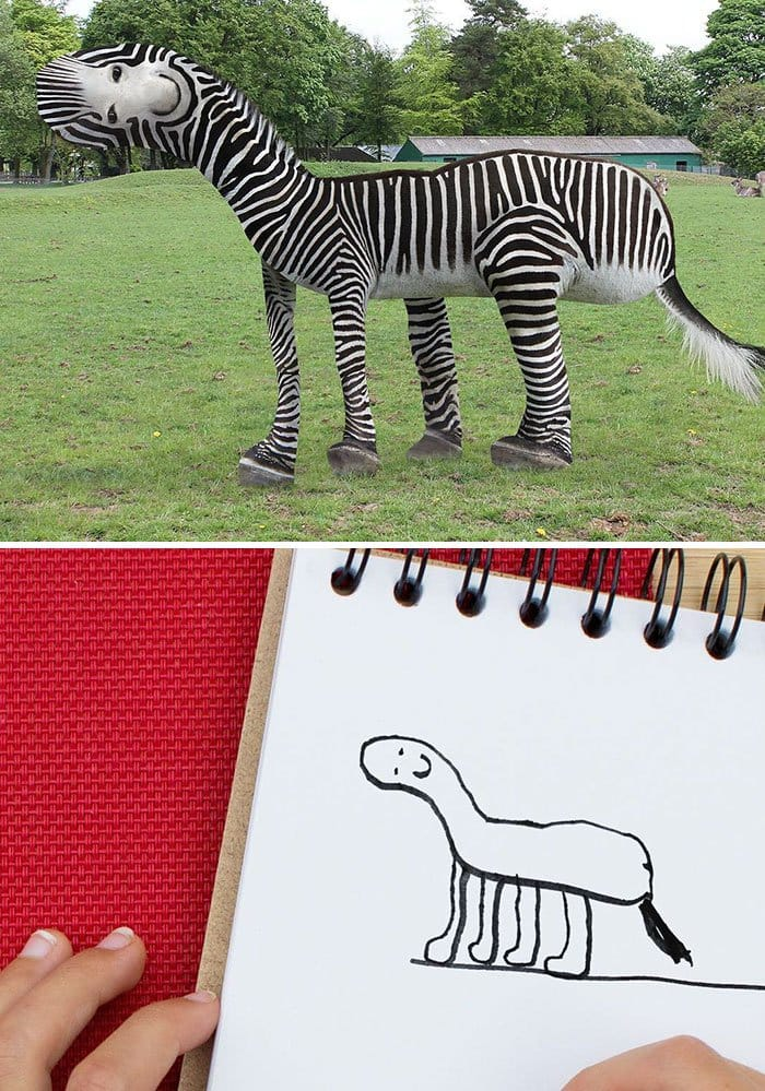 zebra-kids-drawing-turned-into-reality