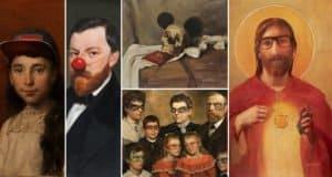 aritst-blase-restores-old-paintings