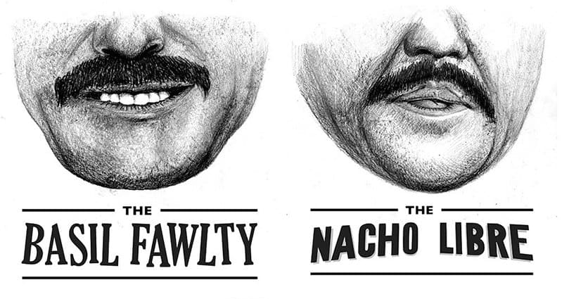 Strange How To Groom Your Mustache Like Famous Film And Tv Icons Hairstyle Inspiration Daily Dogsangcom