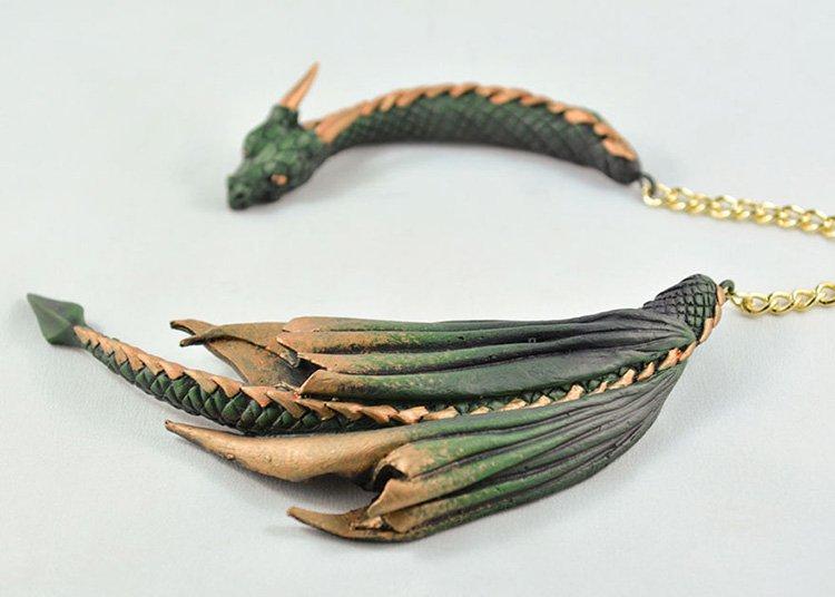 metallic-green-dragon-ring