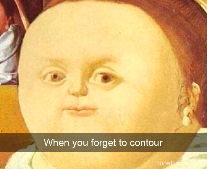 when-you-forget-to-contour-art-history-tweet