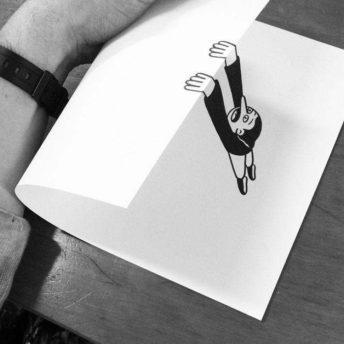 3d-paper-art-huskmitnavn-falling
