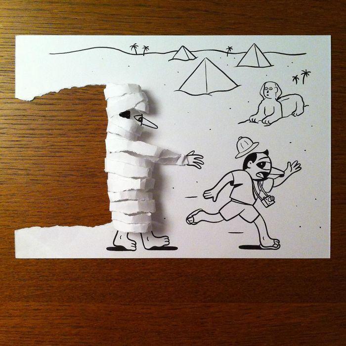 3d-paper-art-huskmitnavn-mummy