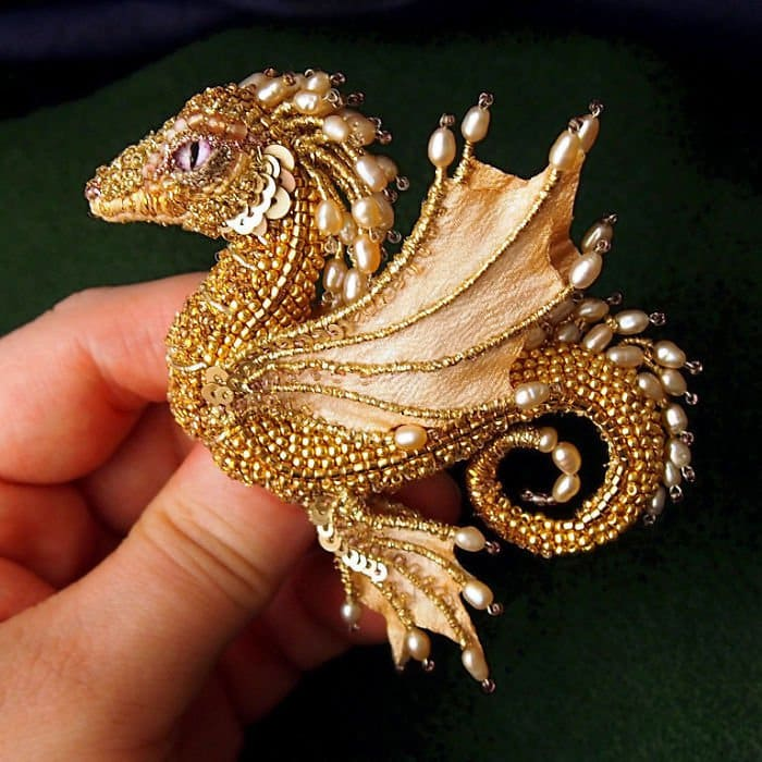 Alyona-Lytvin dragon brooch margo