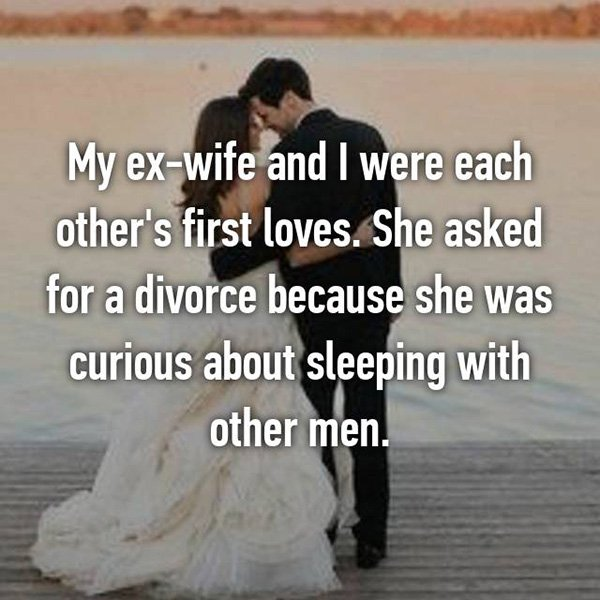 Shocking Divorce Reasons curious about other men