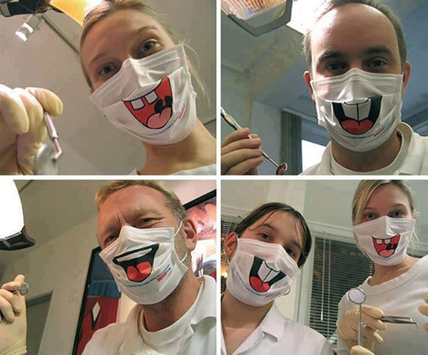annoying-uncomfortable-images dentist smile masks
