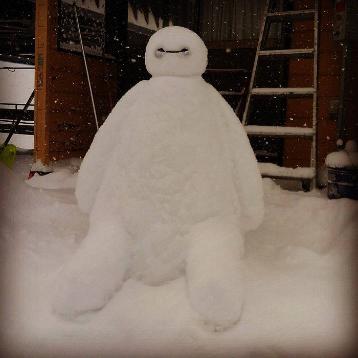 bayman japan snow sculpture