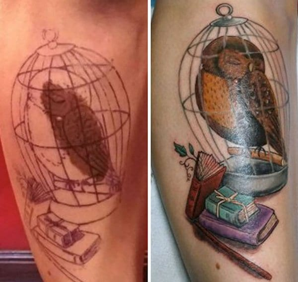 birthmark-tattoo-cover-ups-owl-in-cage