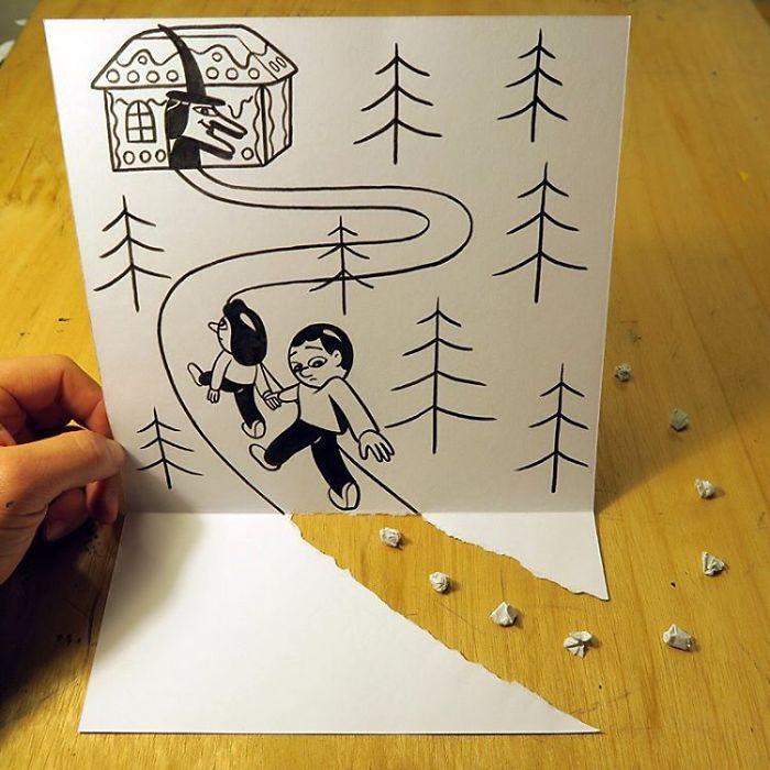 breadcrumbs-3d-paper-art-huskmitnavn