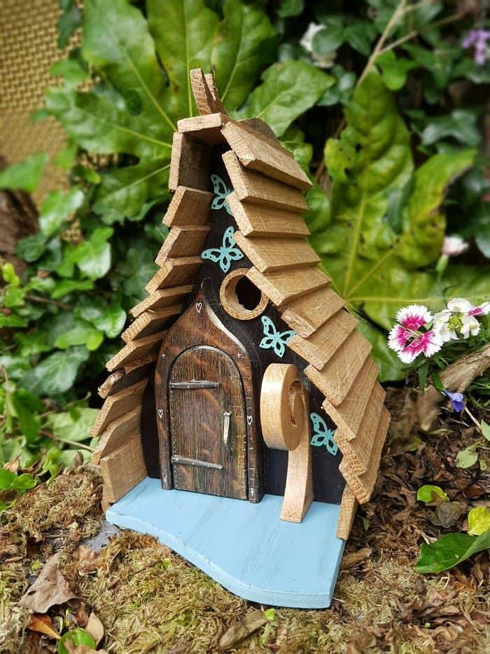 butterfly fairy tale bird houses