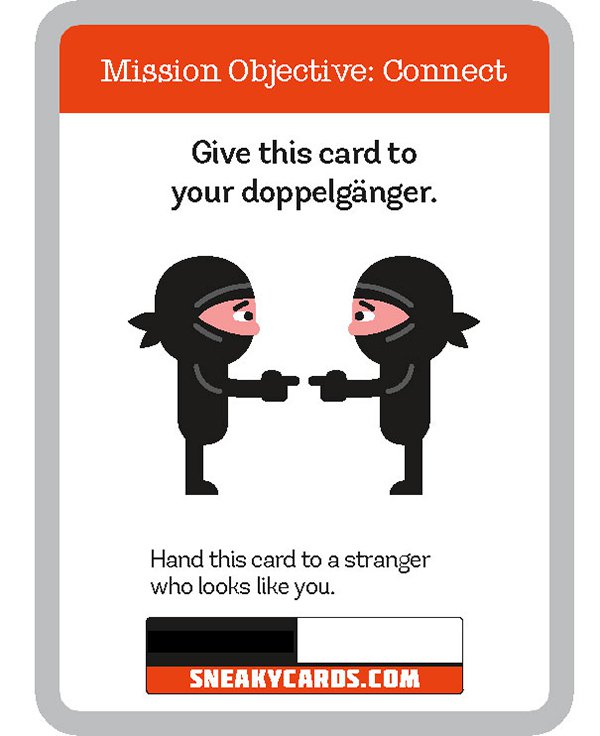 card game sneaky cards doppleganger