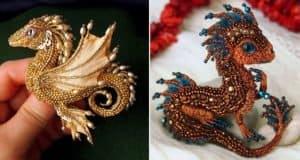 dragon-beaded-brooches-alyona-lytvin