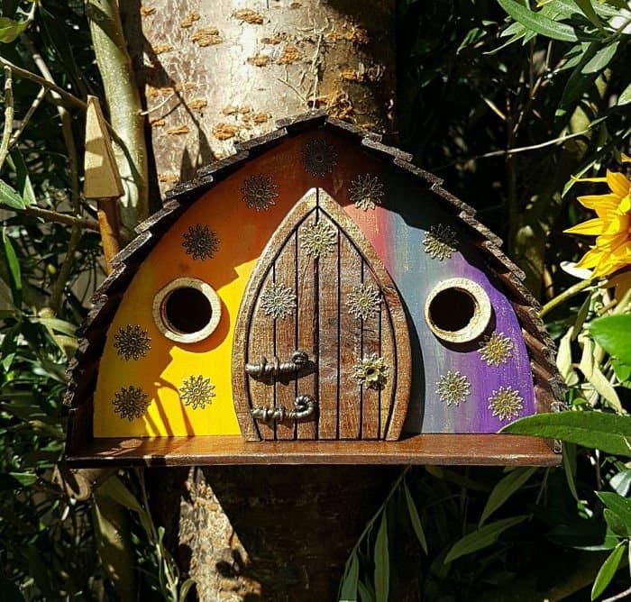 fairy tale bird houses technicolor dreaming