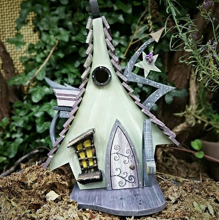 fairy tale bird houses wicked witch