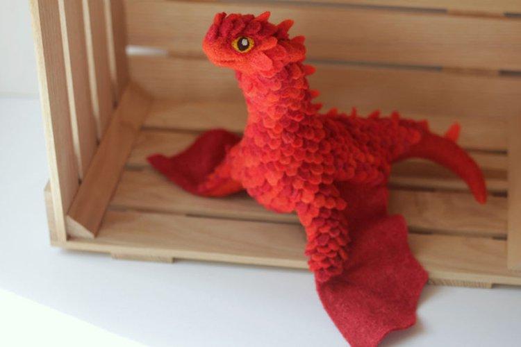 felt-dragons-alena-bobrova-red-orange