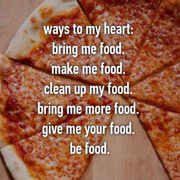 foodie problems be food