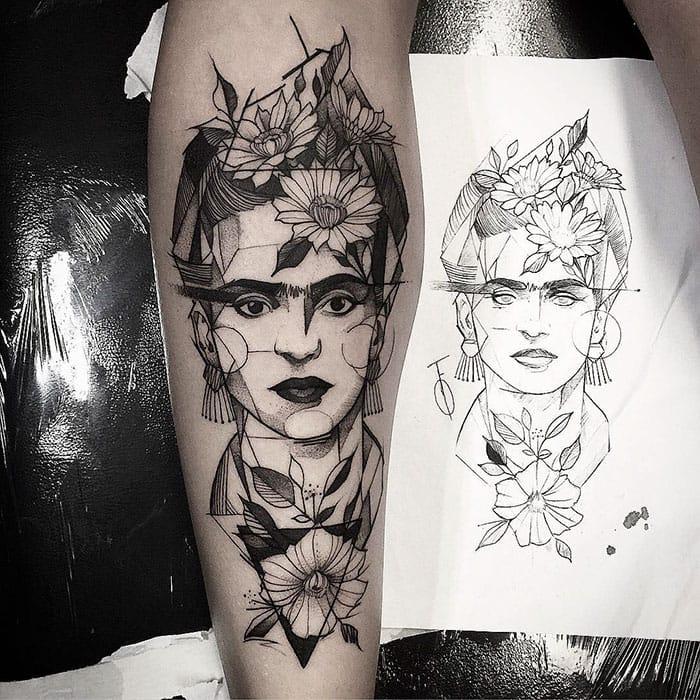 frida kahlo tattoo