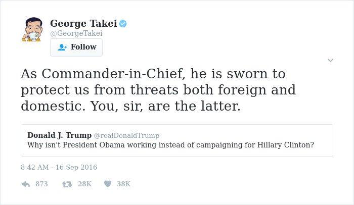 funny-george-takei-comebacks sworn to protect