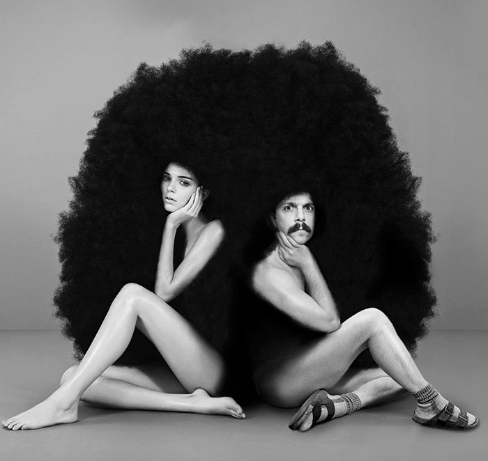 guy-photoshops-himself-into-kendall-jenner-photo-huge-afro