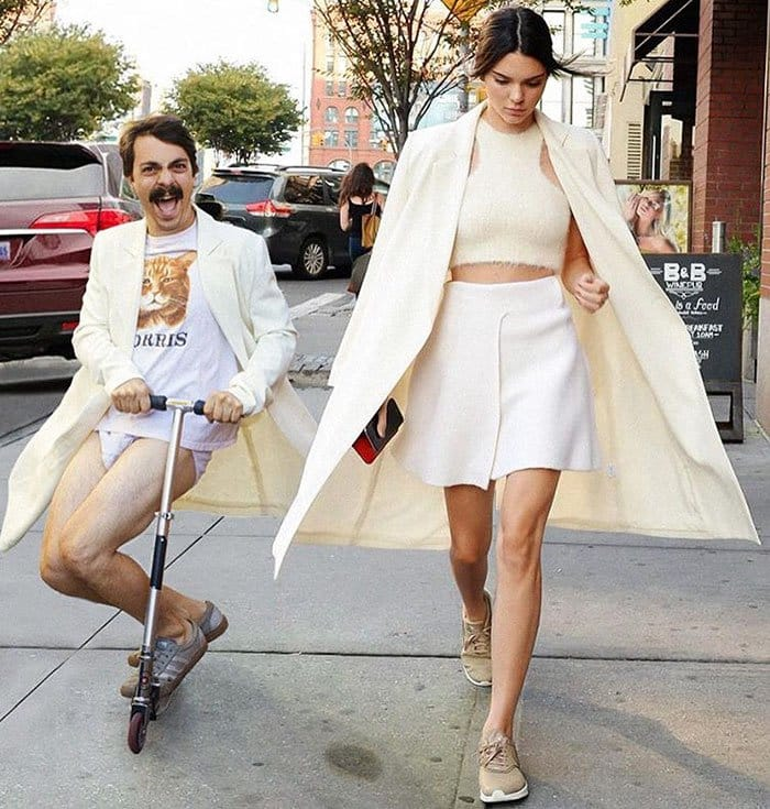 guy-photoshops-himself-into-kendall-jenner-photo-scooter