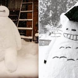 japan-snowman-snow-sculptures