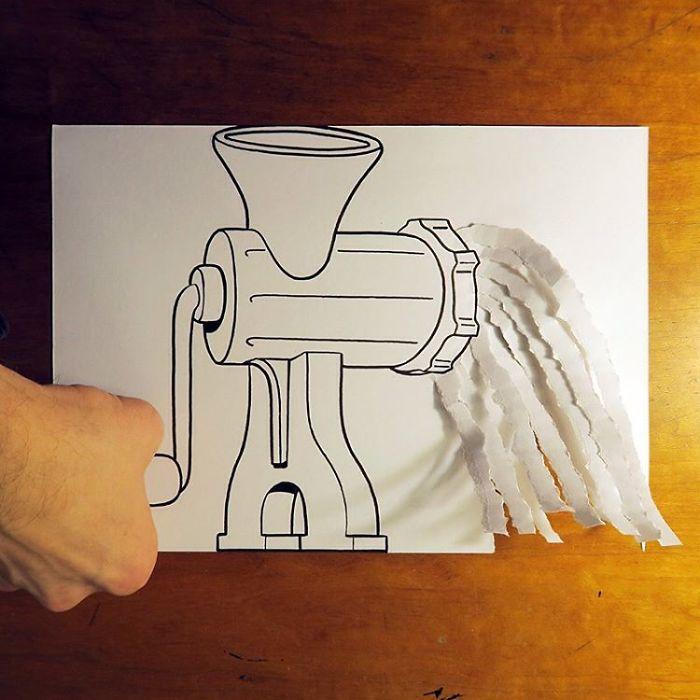 mincer-3d-paper-art-huskmitnavn