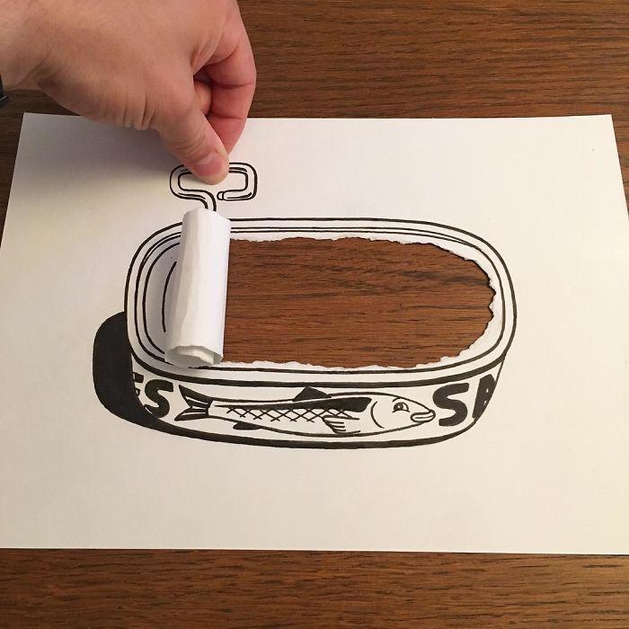 opening-tin3d-paper-art-huskmitnavn