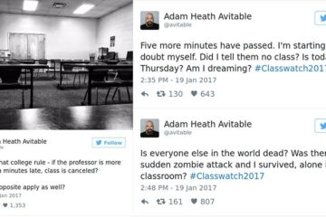 professors-tweets-no-one-showed-up-to-class