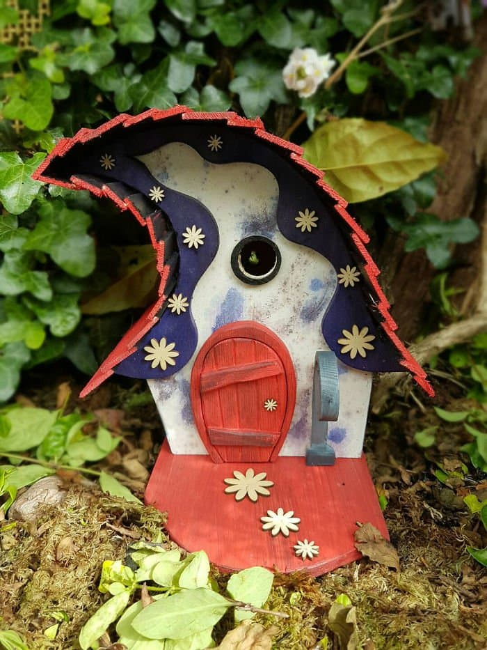 quirky wonky fairy tale bird houses