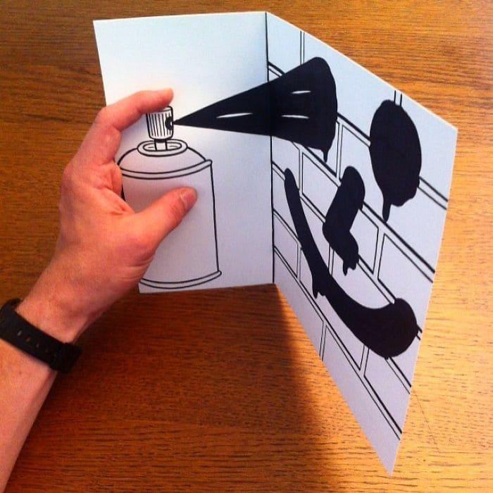 spray-paint3d-paper-art-huskmitnavn