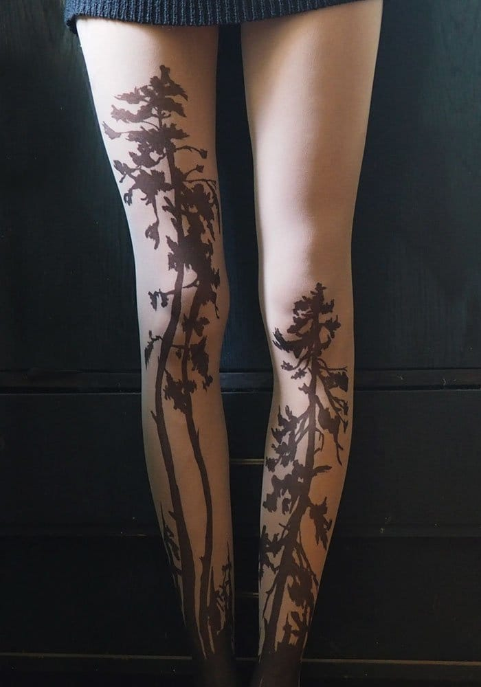 tattoo-tights forest