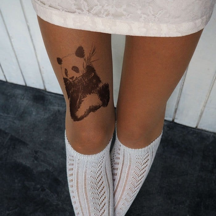 tattoo-tights panda