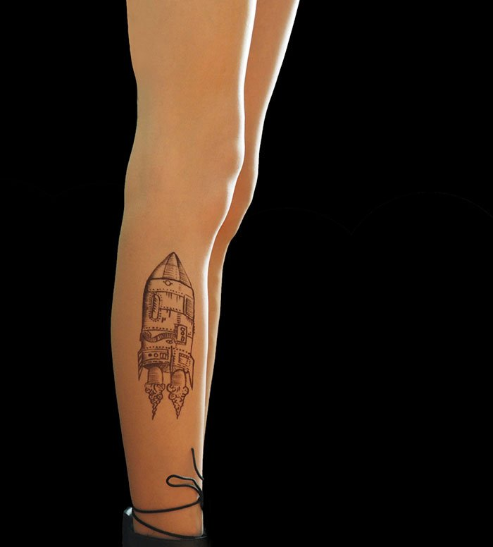 tattoo-tights rocket