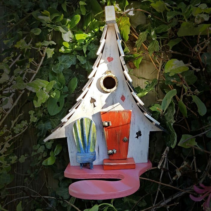 the abandoned alice in wonderland fairy tale bird houses