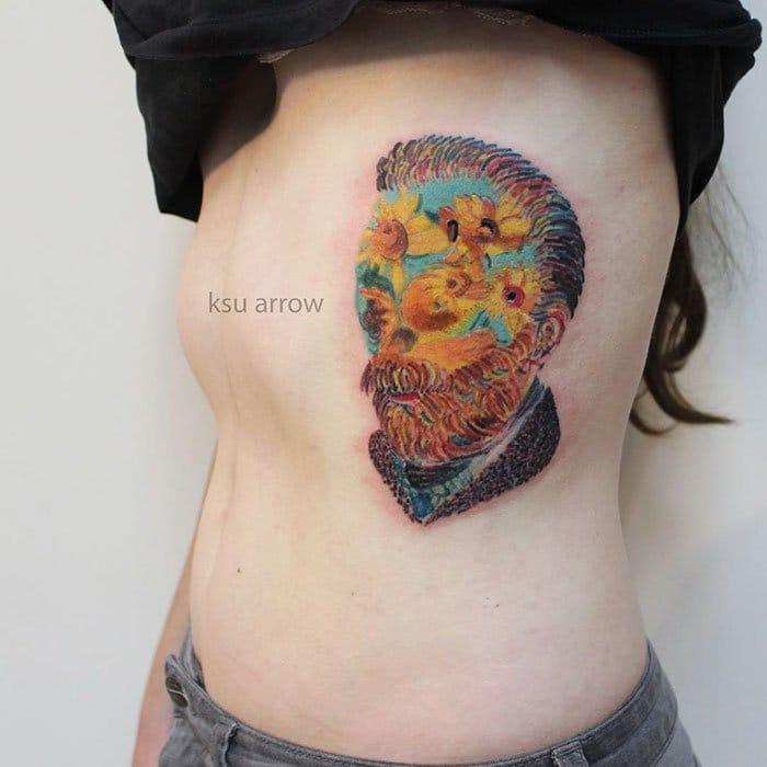 vincent van gogh tattoo