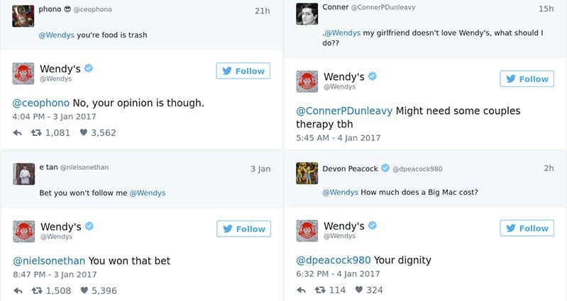 Times The Wendys Twitter Account Had No Chill - 24 hilarious comebacks wendys twitter account