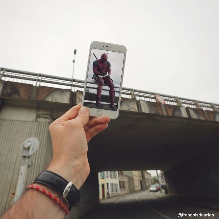 Movie Scenes In Real Life deadpool