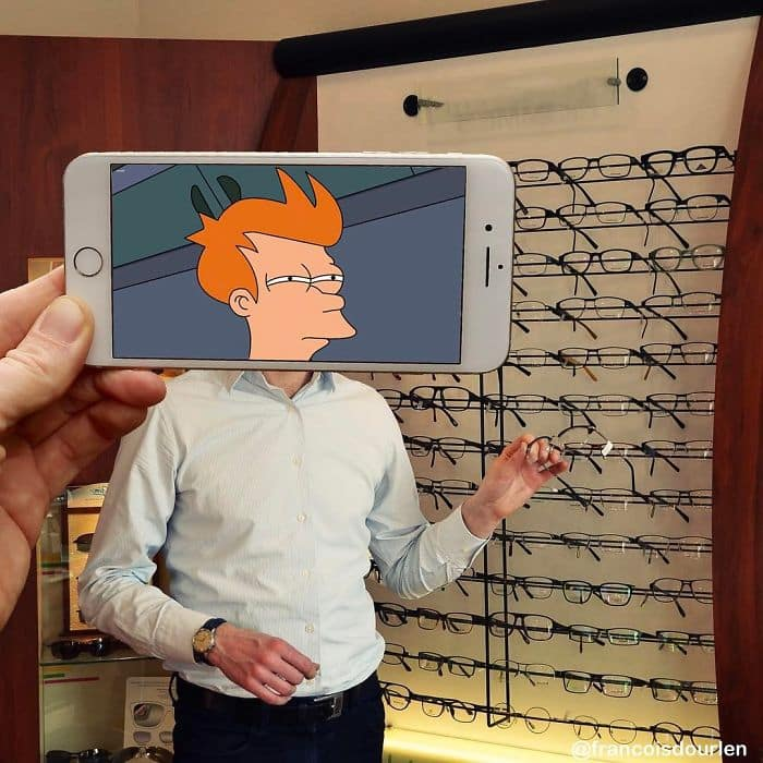 Movie Scenes In Real Life futurama
