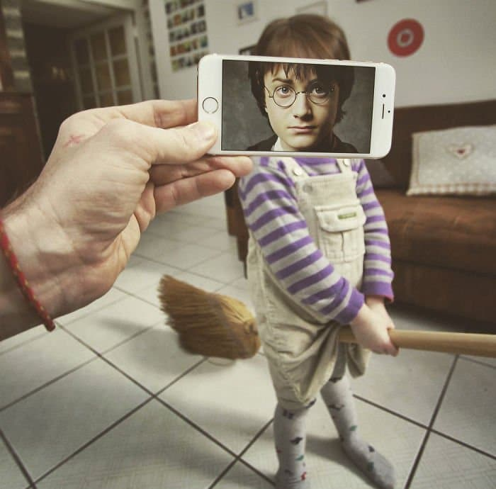Movie Scenes In Real Life harry potter