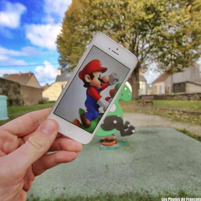 Movie Scenes In Real Life mario